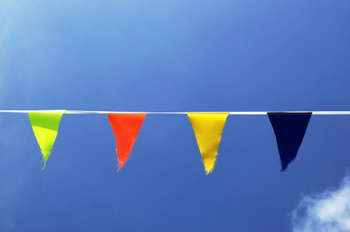 Outdoor Bunting Pennant Banner