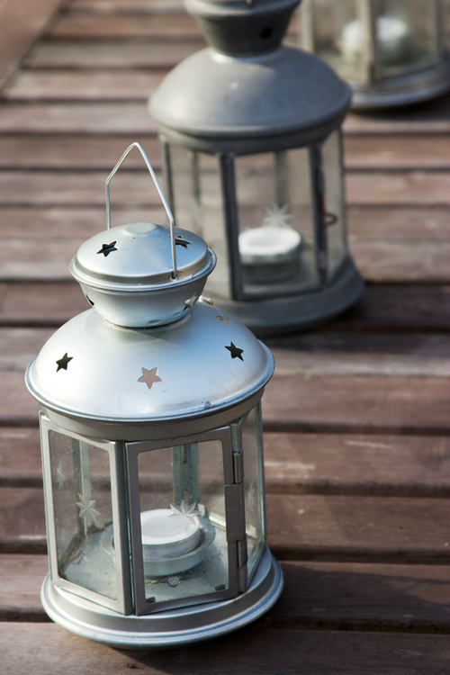 Multiple Decorative Candle Lanterns