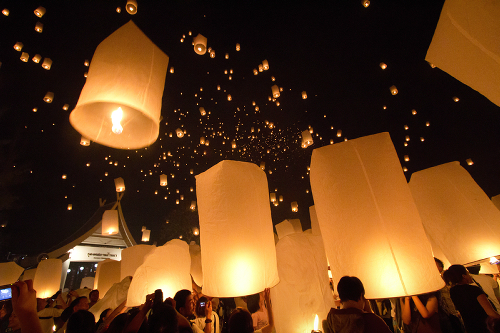 Group Sky Lanterns